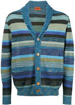 Missoni striped V-neck cardigan - men - Cotton/Linen/Flax - 52