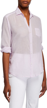 Frank And Eileen Eileen Voile Long-Sleeve Button-Down Shirt