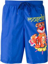 Moschino tiger swimming trunks - men - Polyester - M