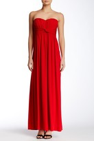 Jessica Simpson JS3V5116 Front Twist Maxi Dress