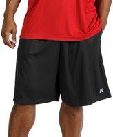 Russell Athletic Big & Tall Elastic-Waist Shorts