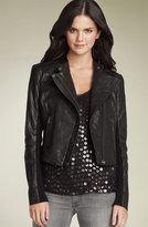 Hinge® Leather Biker Jacket