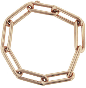 Walters Faith Saxon Elongated Chain Link Bracelet - Rose Gold