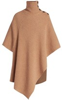 Thumbnail for your product : Chloé Wool Poncho Coat