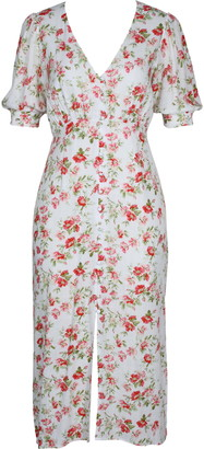 MinkPink Uncharted Heart Midi Dress