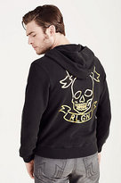 True Religion Hand Picked Zip Up Mens Hoodie