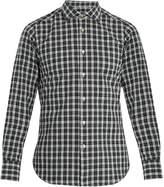 THE GIGI Skat single-cuff checked-cotton shirt