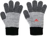 Armani Junior logo knitted gloves
