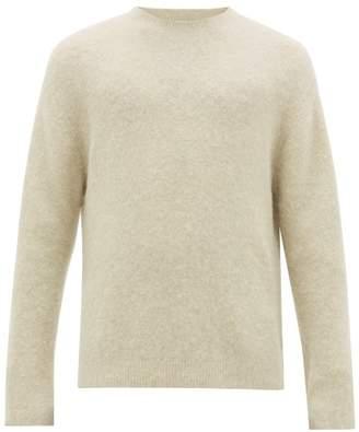 Acne Studios Nosti Crew Neck Sweater - Mens - Light Green