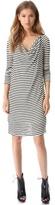 Willow Striped Jersey Dress