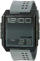 Vestal Unisex DIG036 Digichord Digital Display Quartz Grey Watch