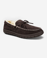 Eddie Bauer Men's Shearling-Lined Moccasin Slippers