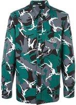Kokon To Zai camouflage print shirt