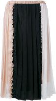 No.21 patchwork skirt - women - Silk/Acetate - 38