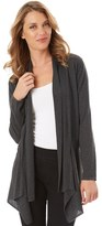 Apt. 9 Women's Lurex Pointelle Cardigan