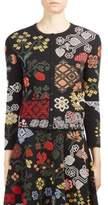 Alexander McQueen Embroidered Cardigan