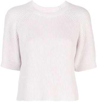 Apiece Apart Ribbed Knit Jumper