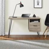 Altra Landon Sonoma Oak/ Gunmetal Grey Desk