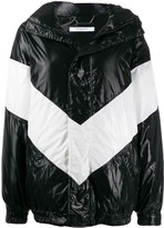 Givenchy chevron puffer jacket