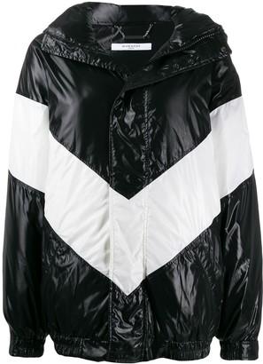 Givenchy Chevron Puffer Jacket