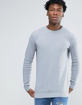 Pull&Bear Jumper In Grey