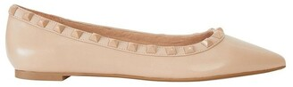 Pink Inc Iggy Nude Matte Flat Shoes