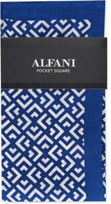 Alfani Men Geo Silk Pocket Square