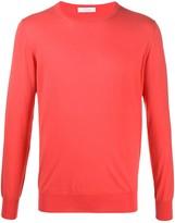 Cruciani fine knit lightweight jumper