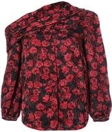 Saloni Ness Off-Shoulder Floral Top
