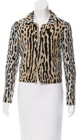 Valentino Cropped Jacquard Jacket w/ Tags