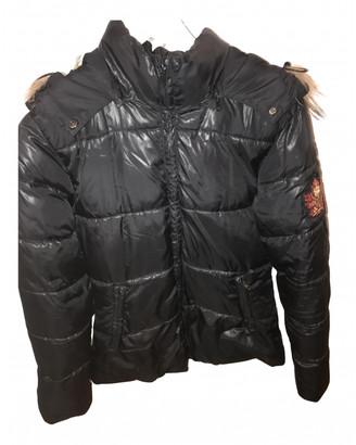 Bel Air Black Fur Coats