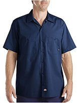 Dickies Men'S Industrial Short Sleeve Work Shirt (L)