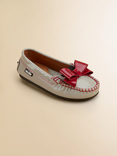 Venettini Toddler's & Girl's Patent Leather Moccasins