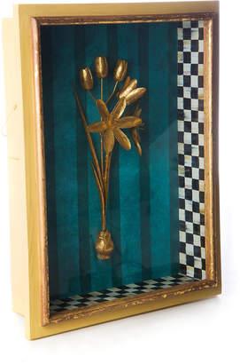 Mackenzie Childs Moonlight Garden Narcissus Shadow Box