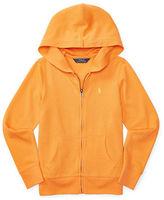 Ralph Lauren Girls 7-16 Zip-Front Hooded Jacket