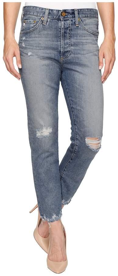 AG Adriano Goldschmied Sloan Crop in 18 Years Landslide Women's Jeans