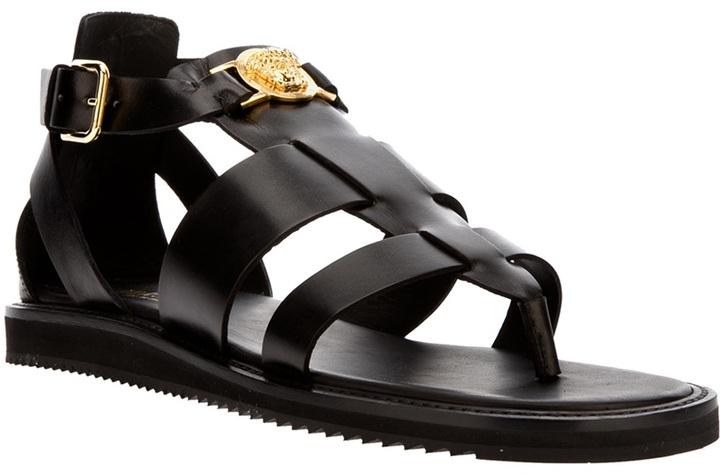 Versace 'Medusa' sandal