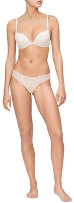 Calvin Klein Black Petal Lace Bikini QF5367 Baby