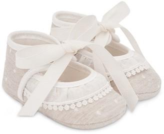 Paz Rodriguez Lace Dobby Shoes
