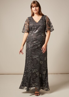 Phase Eight Genevive Sequin Maxi Dress