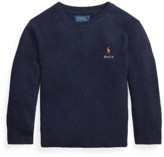 Ralph Lauren Kids Polo Pony Sweater (7-14 Years)