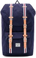 Herschel Little America Backpack in Navy.