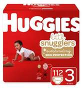 Huggies Little Movers 156-Pack Size 3 Mega Colossal Diapers