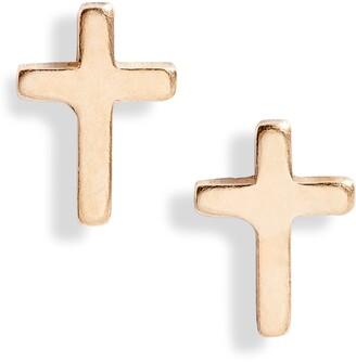 Set & Stones Ramona Cross Stud Earrings