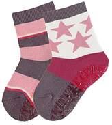 Sterntaler Baby Girls' Fli Soft DP Ringel/Sterne Calf Socks