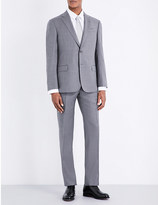 Armani Collezioni Pinstripe slim-fit wool suit