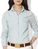 Lauren Ralph Lauren Two-Pocket Chambray Shirt