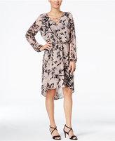Thalia Sodi Printed High-Low Dress, Only at Macy's