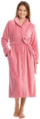 Harper & Grace Hampshire Full-Length Woven Fleece Robe