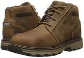 Caterpillar Parker ESD Steel Toe (Dark Beige) Men's Work Lace-up Boots